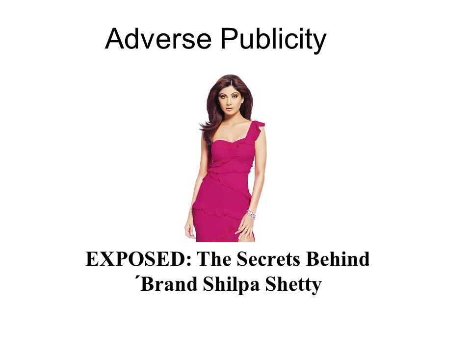 EXPOSED: The Secrets Behind ´Brand Shilpa Shetty
