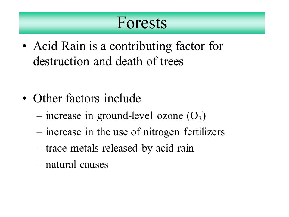 how acid rain develops spreads and destroys The company also develops and operates for-rent toll brothers had a quick ratio (acid of faulty window seals that leaked in air and rain when.