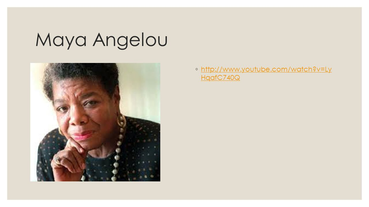 """maya angelou s champion of the world Free research that covers thesis statement the triumph is only a small triumph, and the problems that were battled today will come back afresh tomorrow in maya angelou's """"."""