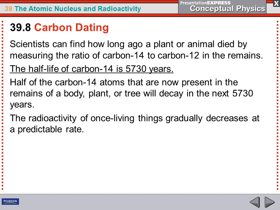 How long is carbon dating good for