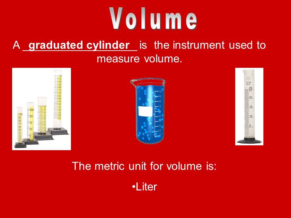 Volume Measuring Instruments : Sc a making measurements ppt download