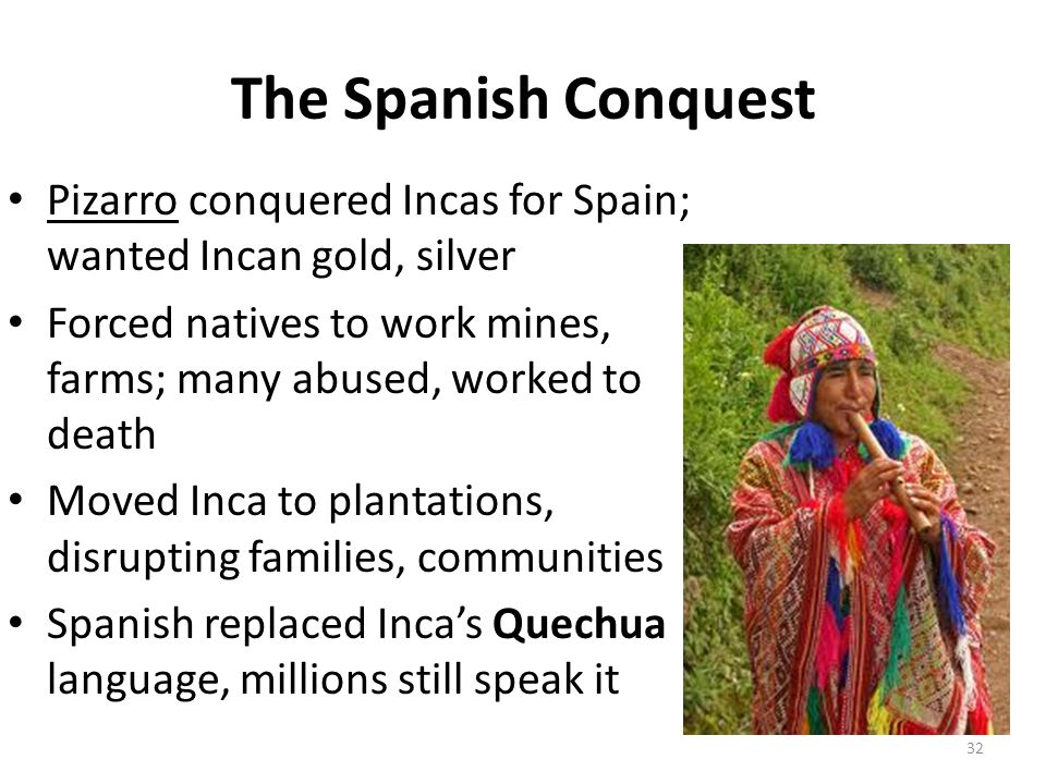 incan silver and spanish exploitation Conquered the incas  impact on the spanish colonies: exploitation of gold and silver  empire from silver and gold.