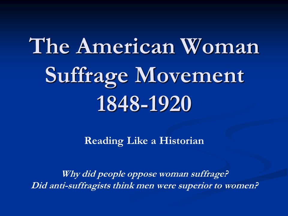 compare and contrast womens suffrage movements essay Civil rights and the women's movement compare and contrast the experiences of african american and white women facing discrimination in the 1950s and 1960s.