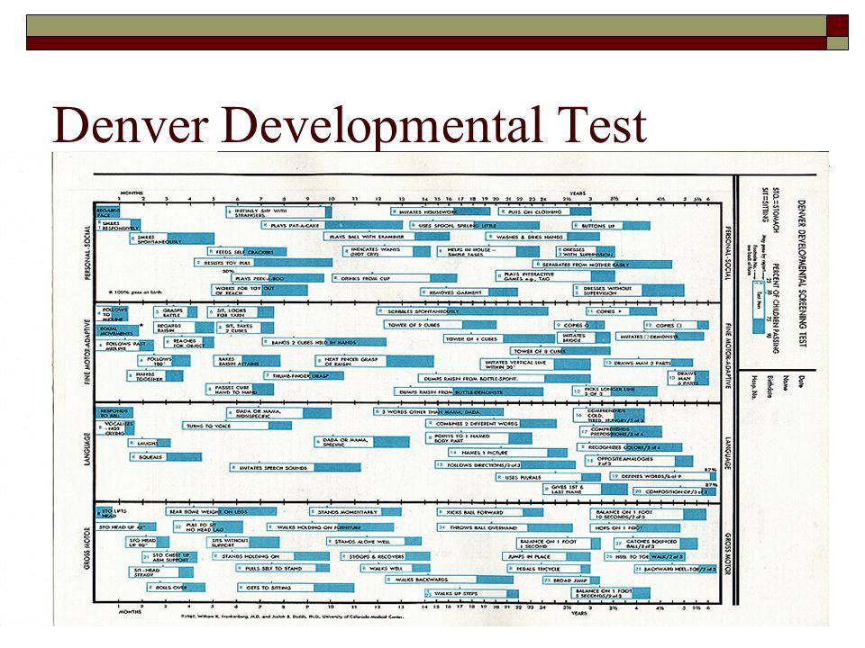 denver developmental screening test
