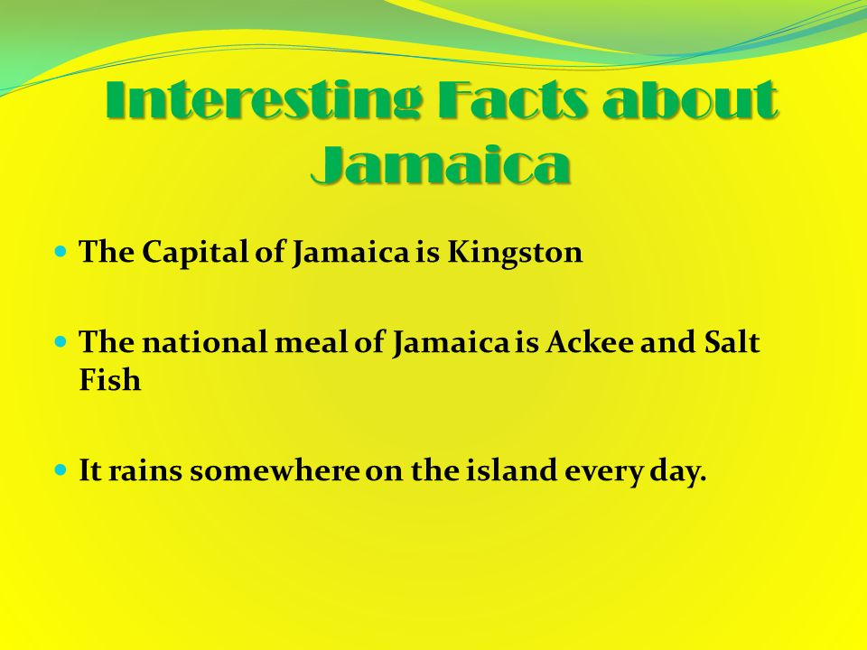 National Motto Out Of Many Came One Ppt Video Online Download - 12 interesting facts about jamaica