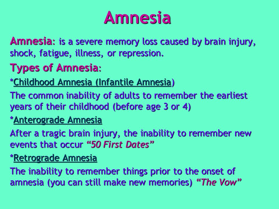 theories for infantile amnesia Ii the infantile sexuality : it is a  infantile amnesia—this remarkable negligence is due  the best theories based on the observations of adults leave us in.