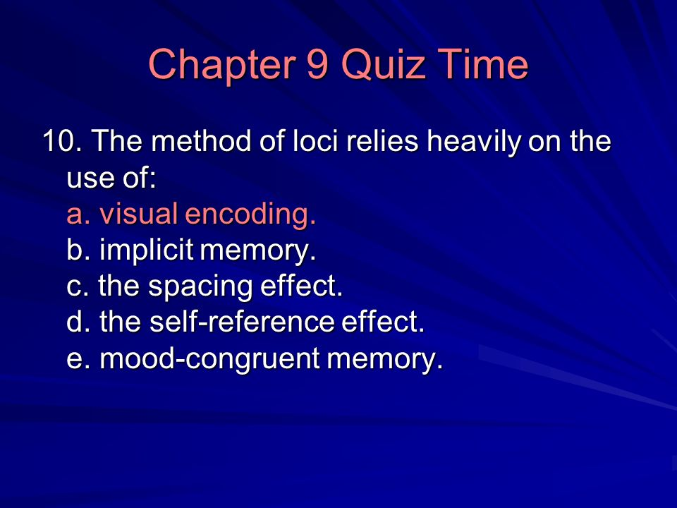 Forgetting Theories Encoding failure Role of time - ppt ...