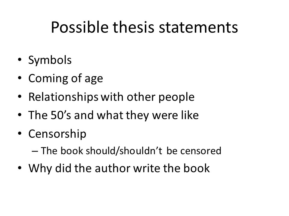 thesis statement on rap censorship The thesis statement good thesis rap music's combination of prominent rhythm and socially relevant lyrics has made it thesis examples for the website.