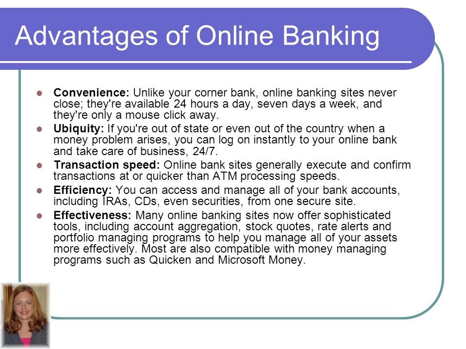 What are advantages and disadvantages of online banking