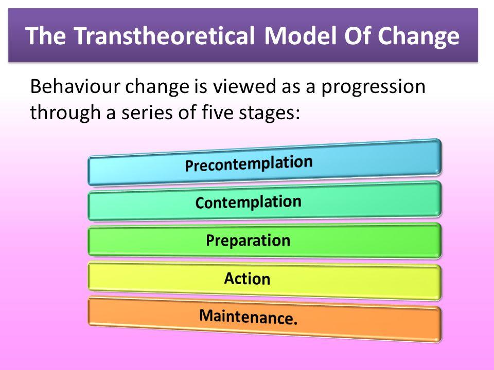 transtheoretical model of behavior change pdf