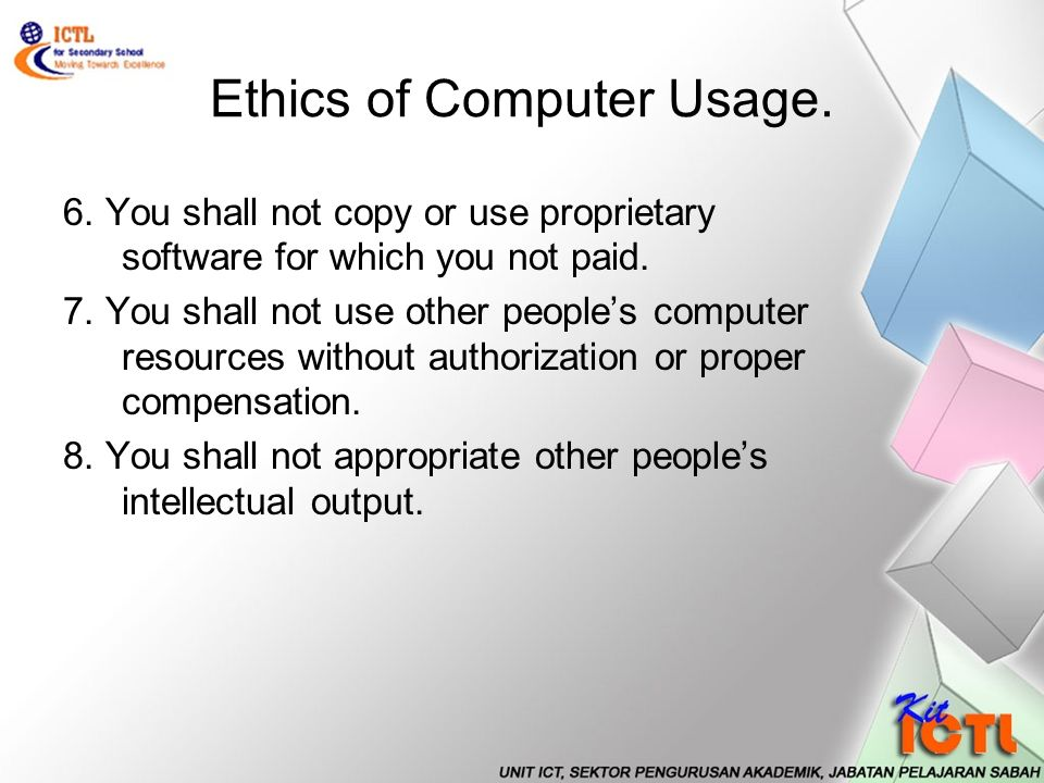 """ethics and ipr issuess in computer labs Some ethical issues addressed in contemporary reference work and reports   respecting intellectual property rights, treating colleagues  """"homeless patrons  seek to use the library lab computers, but cannot do so since they are not current."""