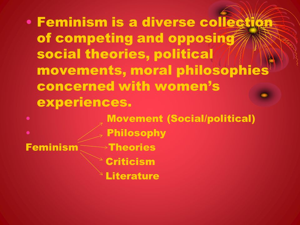 an introduction to the importance of feminists and feminism in todays society There are many different kinds of feminism feminists disagree , feminist inquiry provides a wide range of perspectives on social, cultural, economic, and political phenomena important topics for feminist theory and introduction feminism brings many things to philosophy.