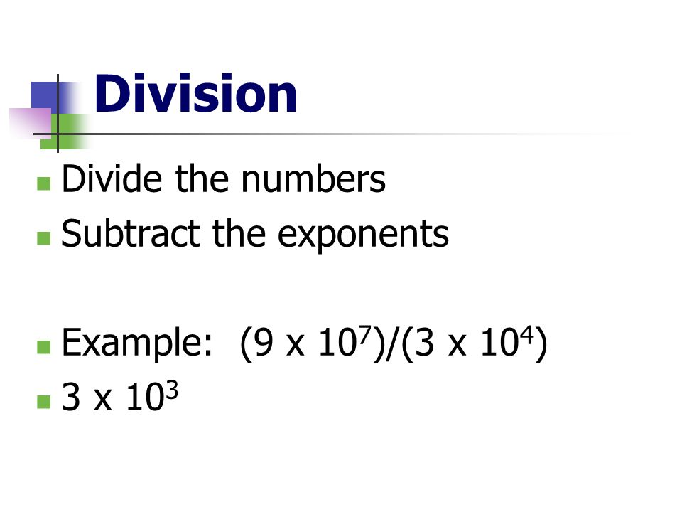 how to add subtract multiply and divide in scientific notation
