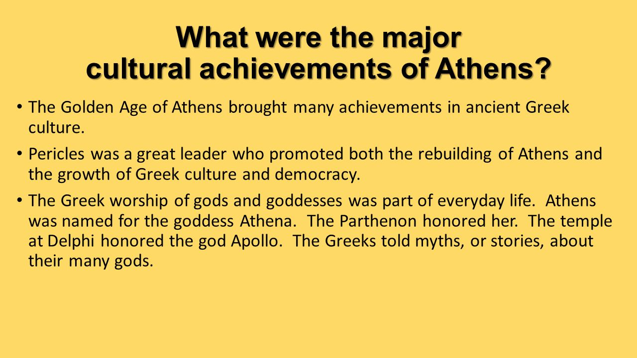 chapter 29 the golden age of athens ppt video online download
