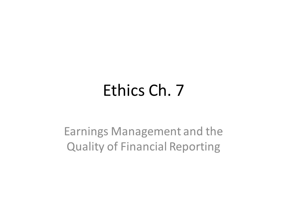 ethics and financial reporting Syntax advanced search new all new items books journal articles manuscripts topics all categories metaphysics and epistemology.