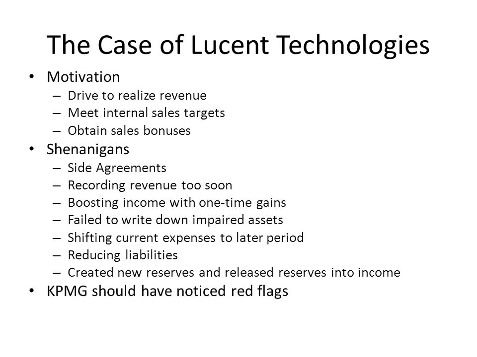 case study on lucent technologies Corporate brand matrix case study: lucent technologies 1996 by tony spaeth / identity and tom vanderbauwhede / lemento.