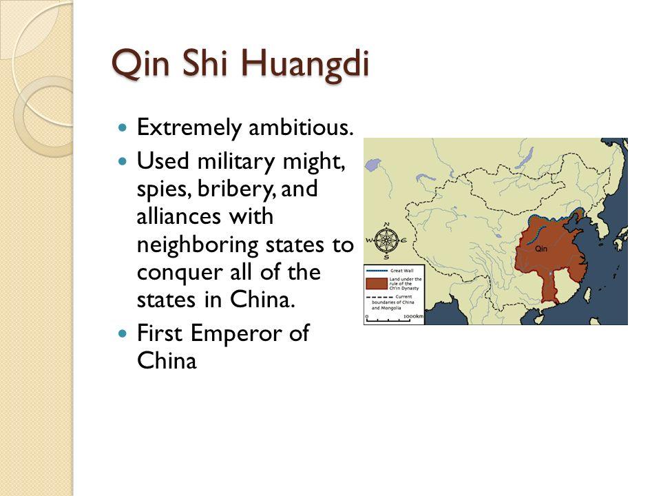 4 Qin Shi Huangdi