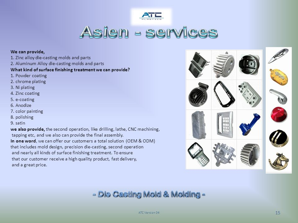 - Die Casting Mold & Molding -