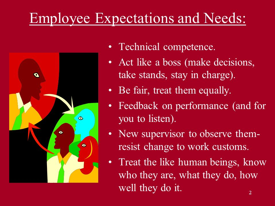 Employee Expectations and Needs: