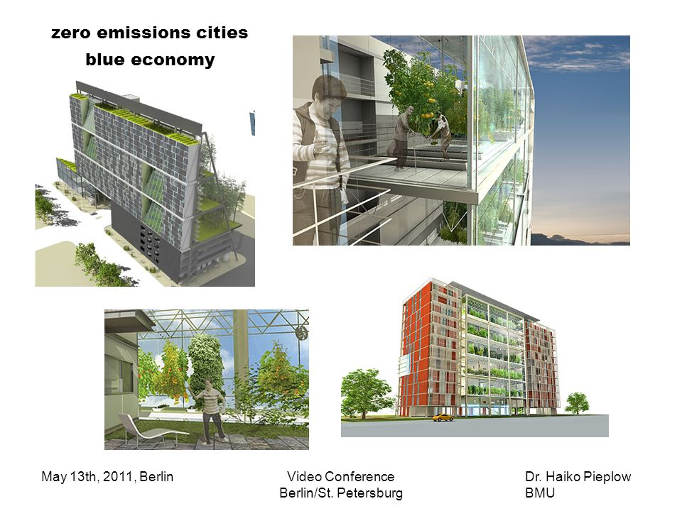 zero emissions cities blue economy