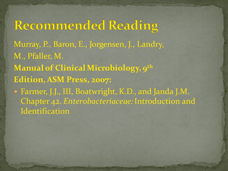 manual of clinical microbiology 12th edition