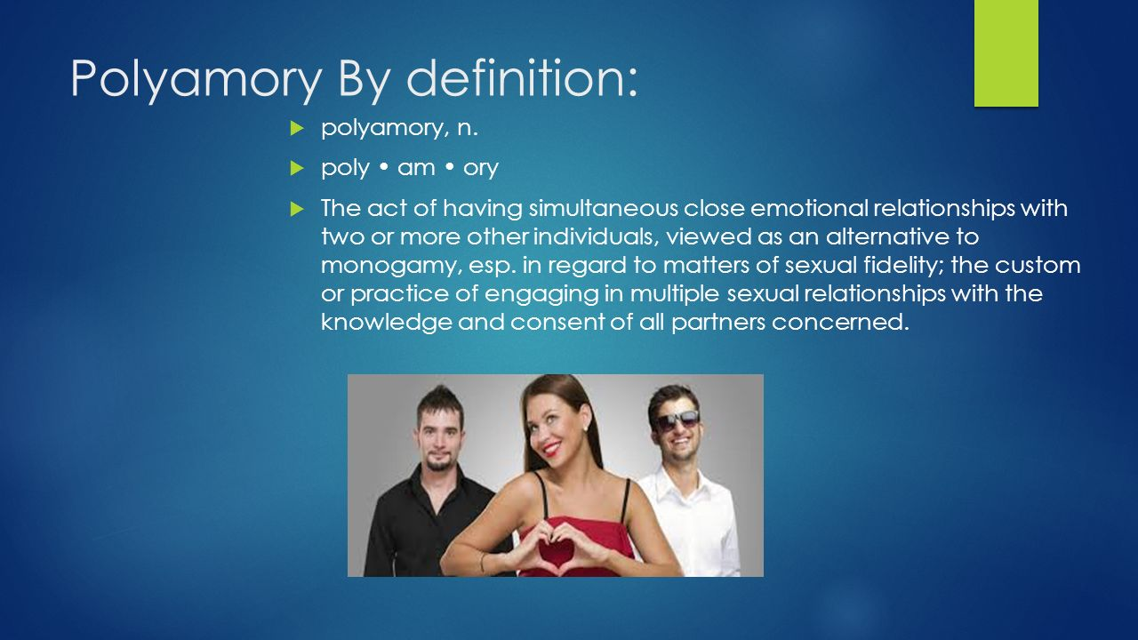 polyamory dating definition