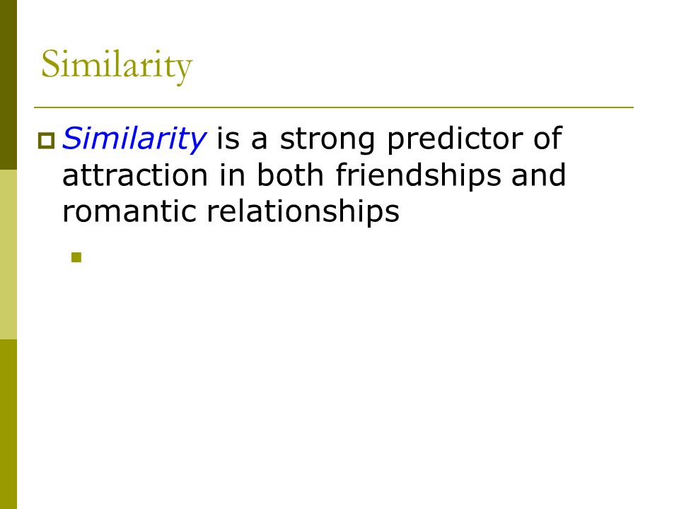 Concepts of similarity and complementarity in romantic relationships