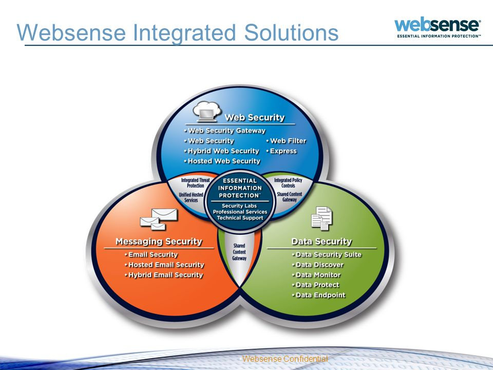 Websense Integrated Solutions
