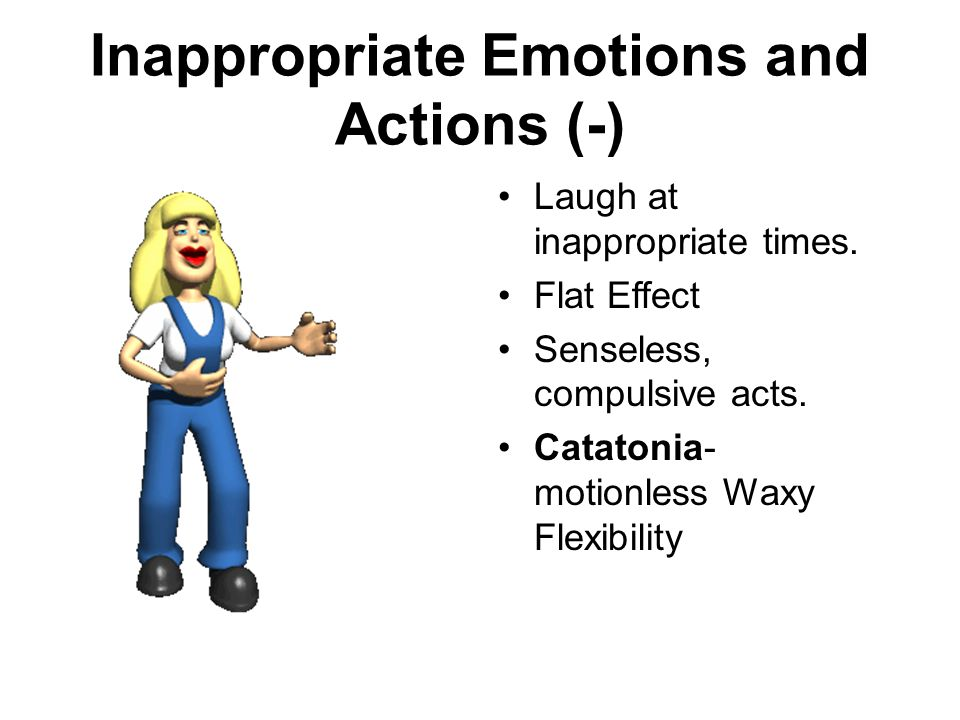a beautiful mind and schizophrenia positive and negative symptoms Catatonia is a negative symptom of schizophrenia in catatonia, peoples' reaction  to their surroundings becomes very decreased they may take a rigid,.