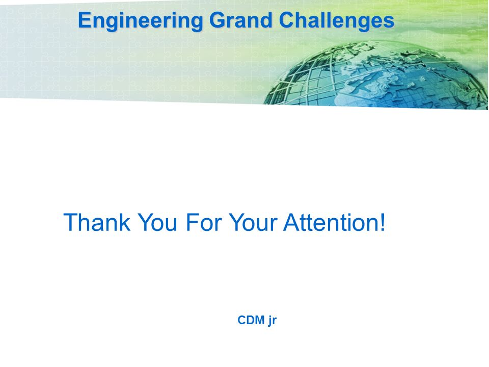 grand challenge in civil engineering An expert task force that was assembled by the asce tccit (technical council  on computing and information technology) data sensing and.