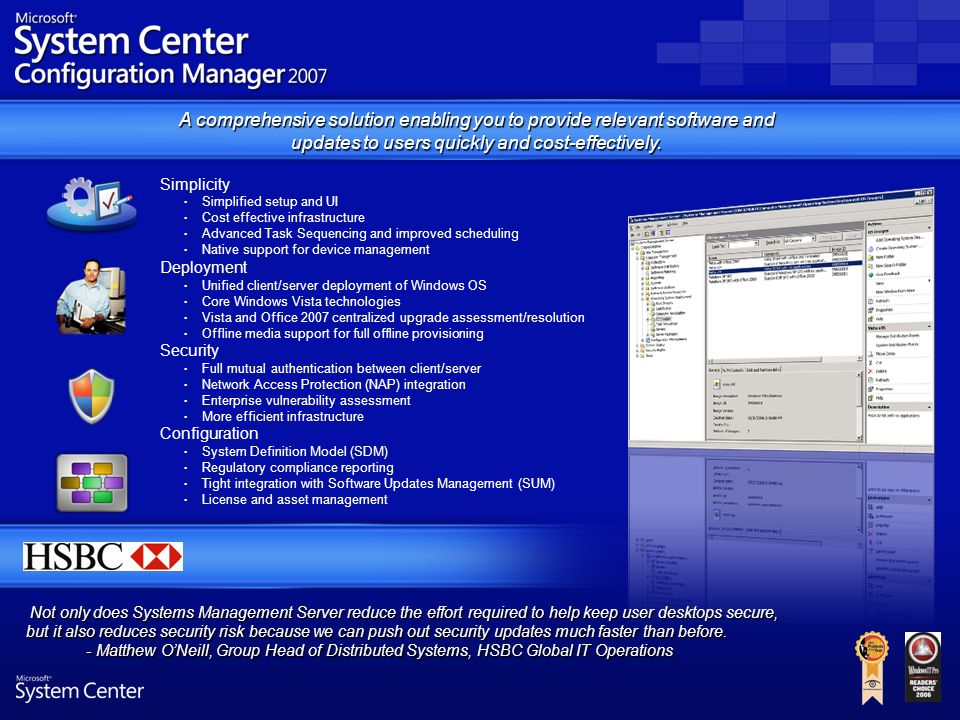 Microsoft s system center ppt video online download - Office 2007 supported operating systems ...