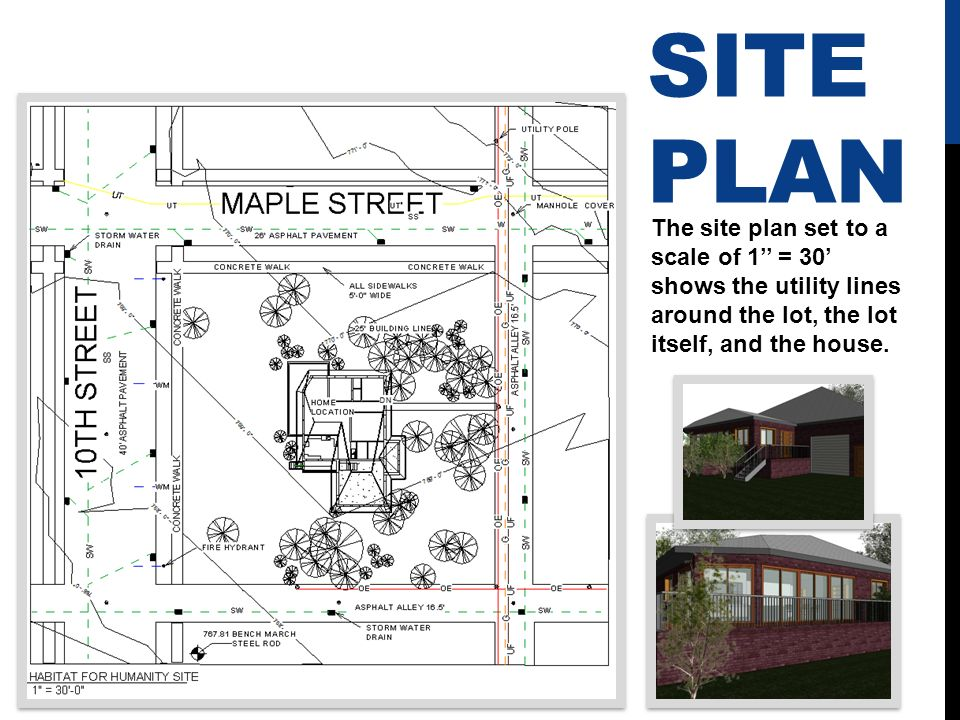 Affordable housing project ppt video online download for Site plans online