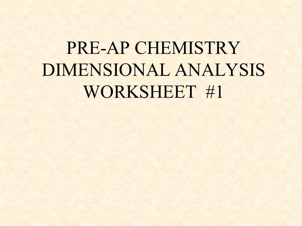Ap physics dimensional analysis worksheet answers