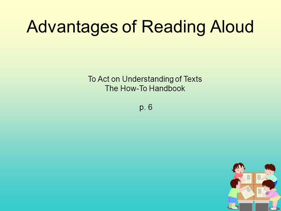 advantages of reading Reading to children from a young age is important to help them succeed later in life here are 10 benefits that highlight the importance of reading.