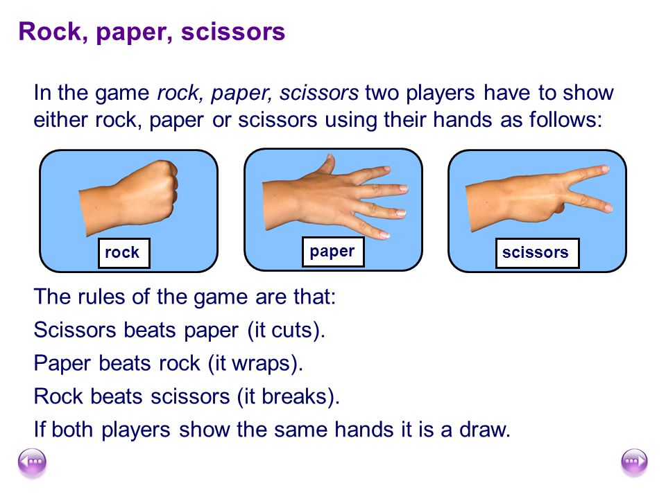 how to win every game of rock paper scissors