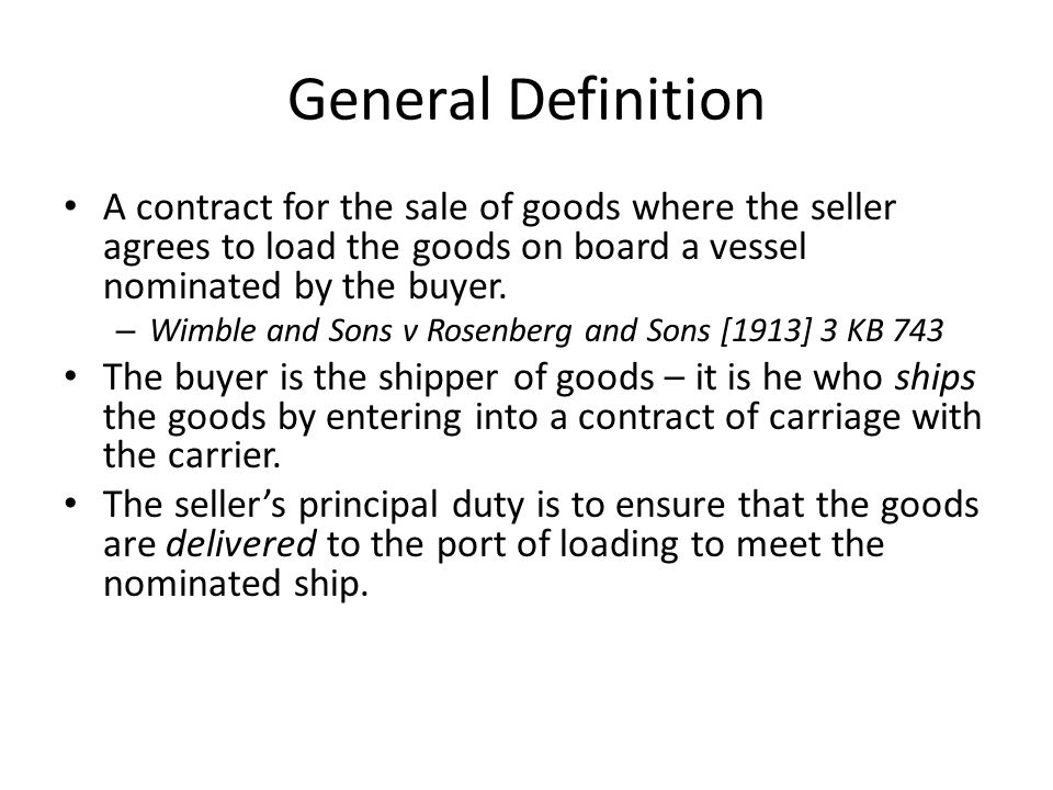 law of sale of goods part The text of uniform law of international sale of goods (ulis) annexed to the hague convention of 1964,mi~ht render such text capable of wider acceptance by countnes.