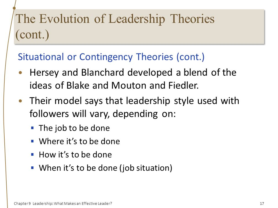 what makes an effective leader pdf