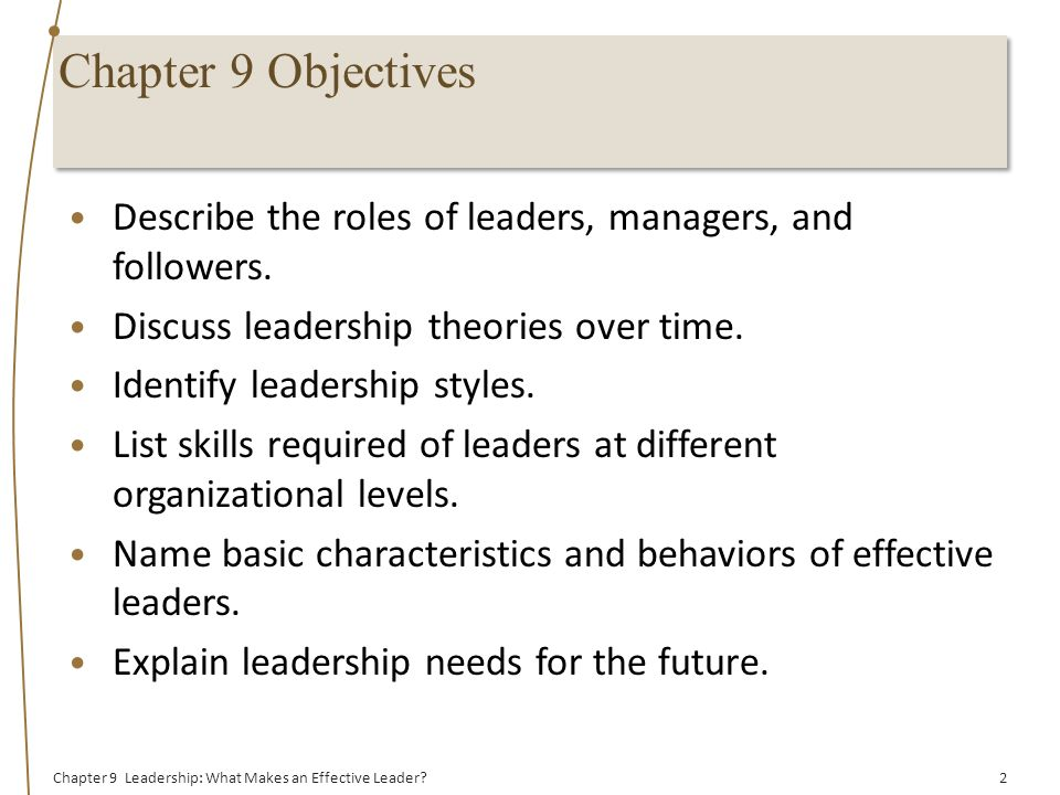 characteristics of a effective leader The attributes of an effective global leader sylvia ann hewlett october 13, 2016 save  in today's world, success for any leader is about being a good influencer, says nayak, who has.
