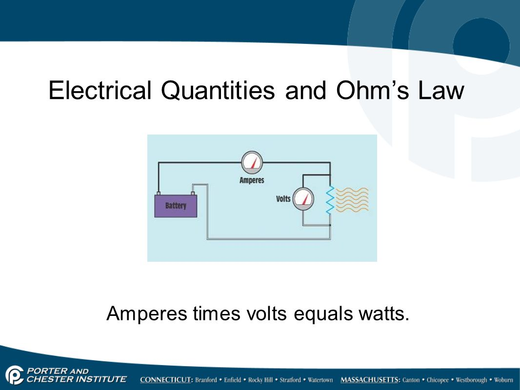 Electrical Ohm S Law : Electrical quantities ppt video online download