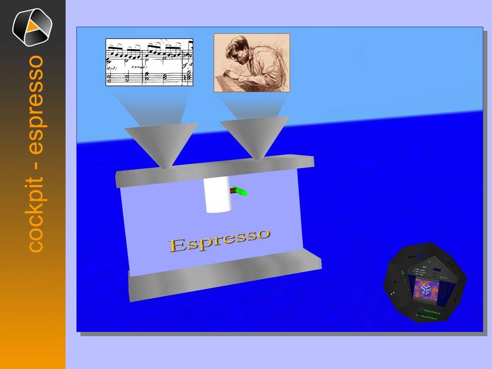 cockpit - espresso