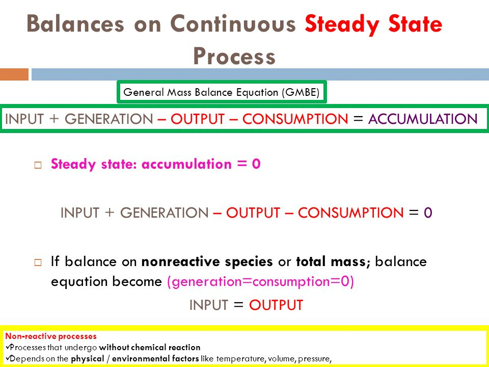 how to find steady state consumption