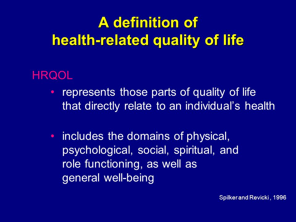 "an introduction to the definition of the term quality of life Since its introduction in the medical literature in the 1960s, the term ""quality of life "" has become increasingly popular in recent decades in 1975."