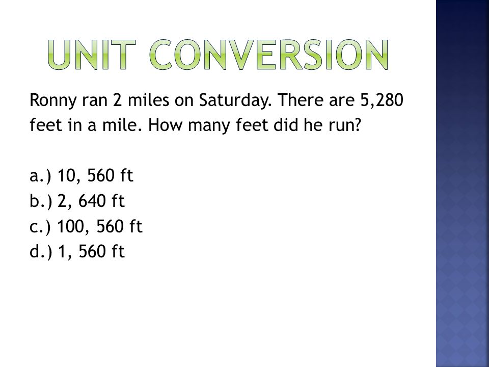 Unit conversion The formula for density d is - ppt video ...