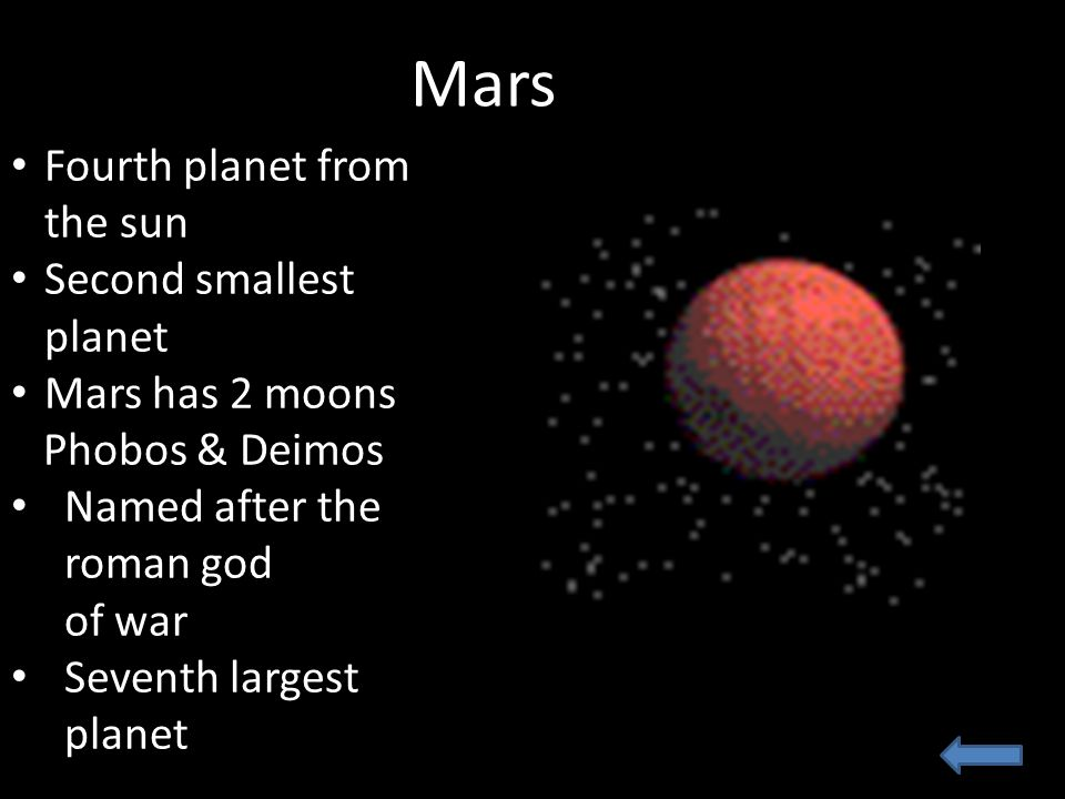 mars planet 2moons - photo #42