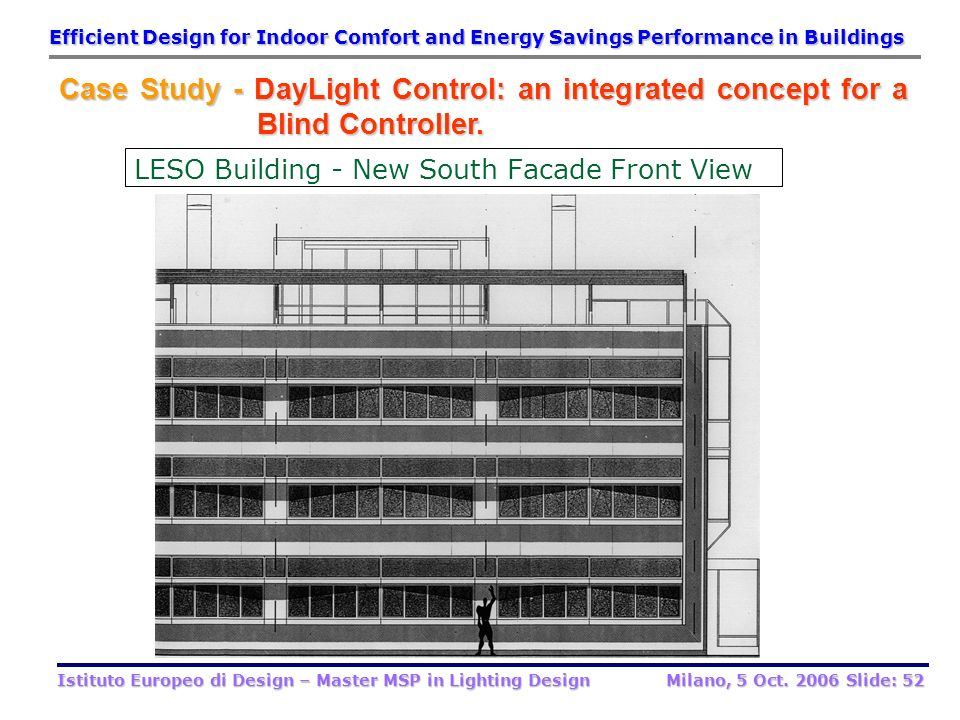 LESO Building - New South Facade Front View