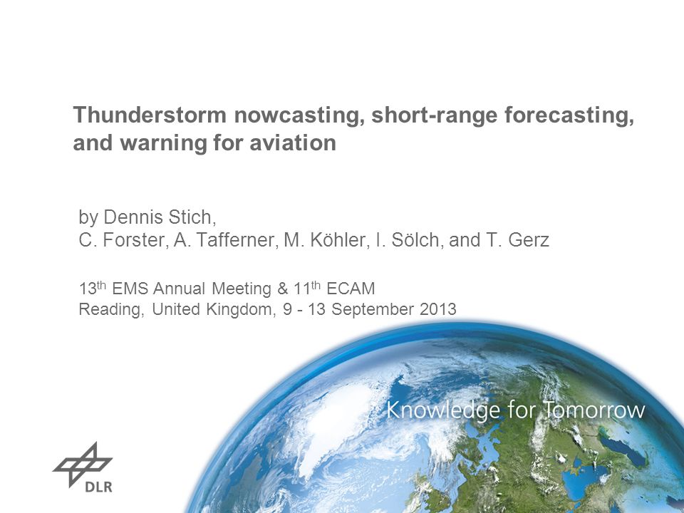 Thunderstorm nowcasting, short-range forecasting, and warning for aviation
