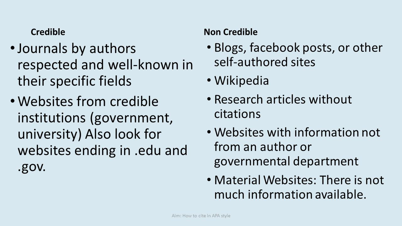 Aim: How To Cite In Apa Style Individualityconcept  Birdsonawire503081960_1261x835