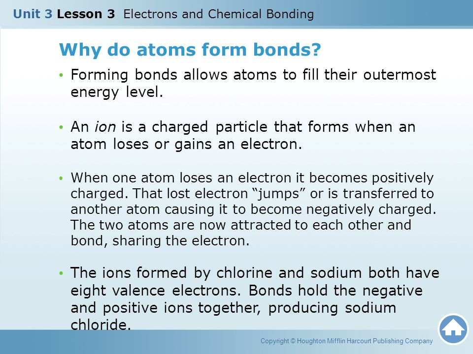 Unit 3 Lesson 3 Electrons and Chemical Bonding - ppt video online ...