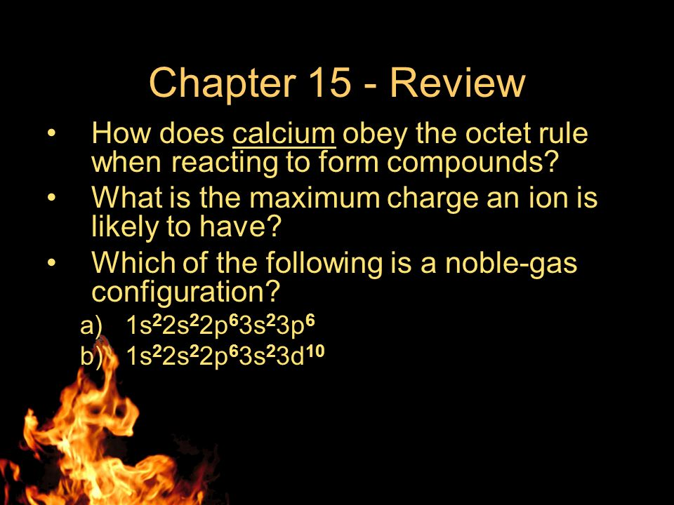 "Chapter 15 – Review ""Ionic Bonding and Ionic Compounds"" - ppt download"