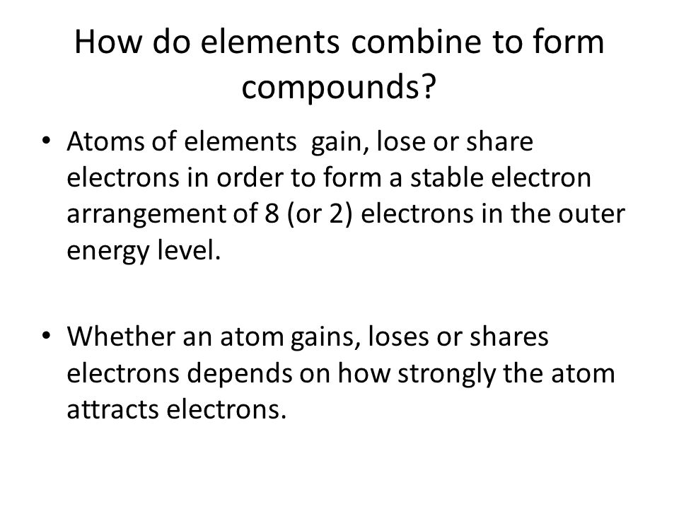 Chapter 20: CHEMICAL BONDING - ppt video online download